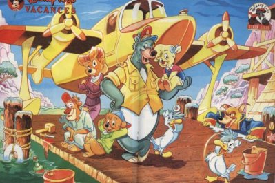 Super Baloo Talespin In France
